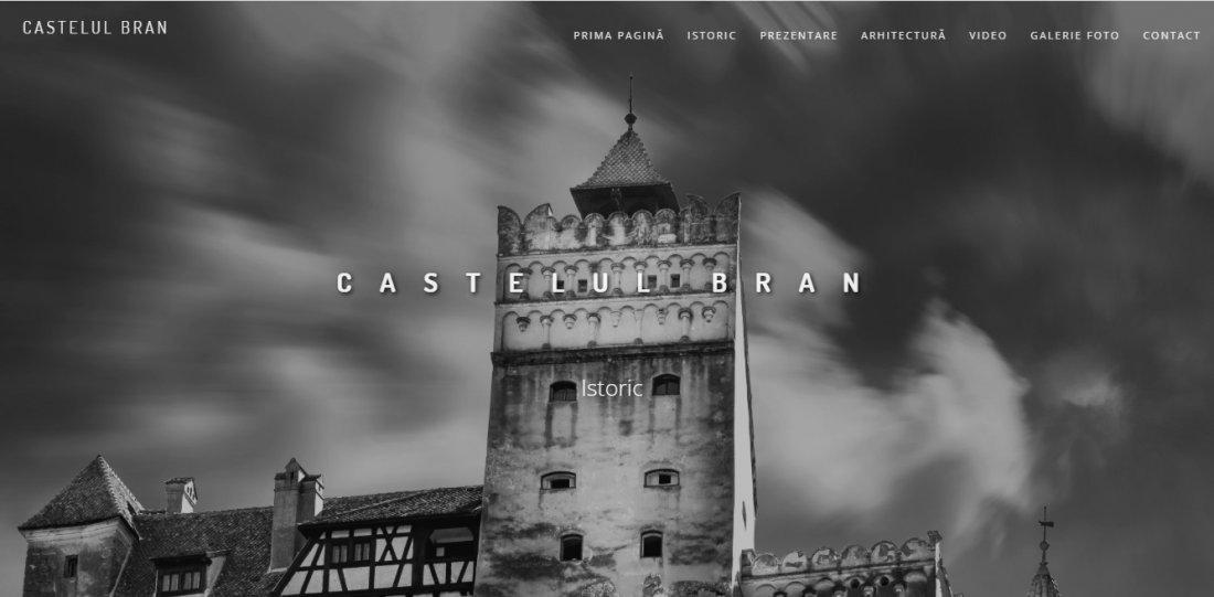Atestat informatica Castelul Bran