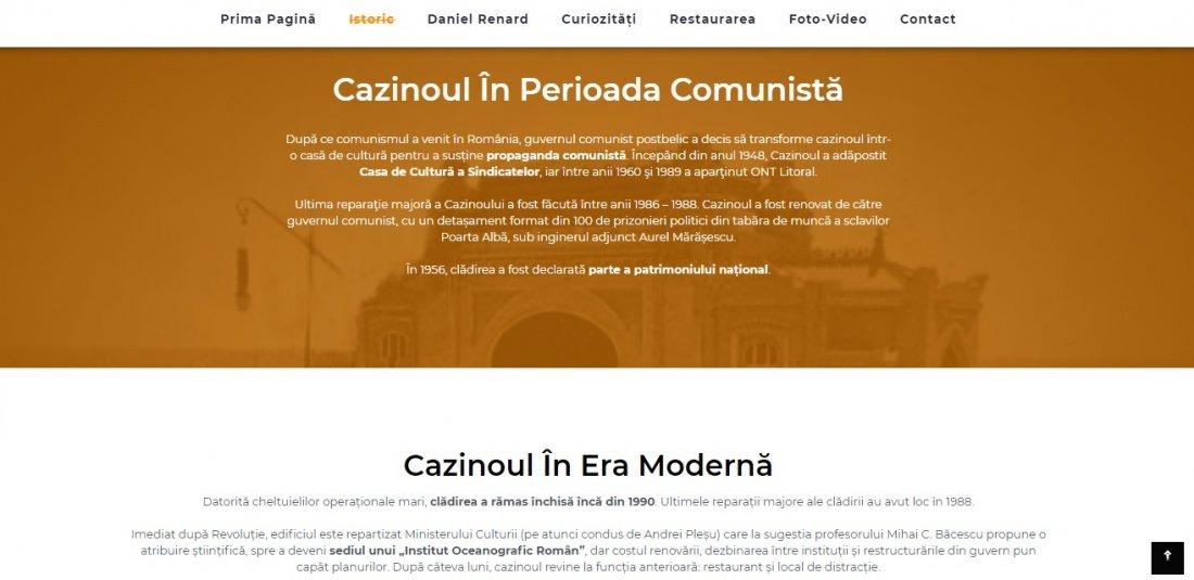 Atestat informatica Cazinoul din Constanta