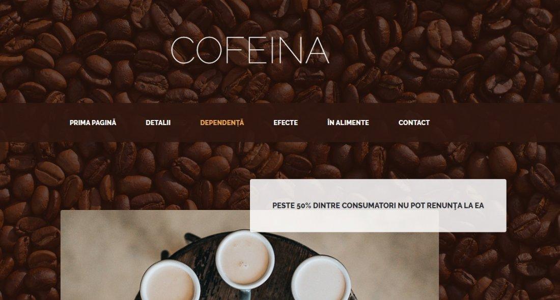 Atestat informatica Cofeina