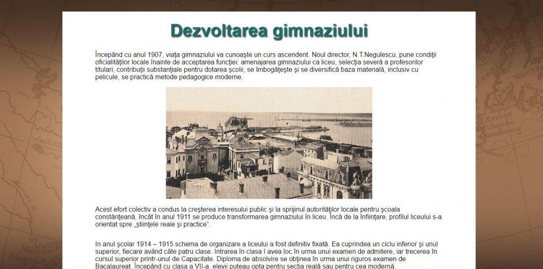 Atestat informatica Colegiul National Mircea cel Batran Constanta
