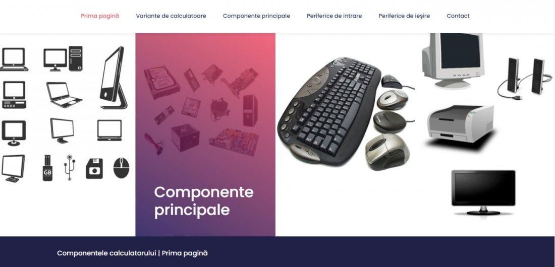 Atestat informatica Componentele calculatorului
