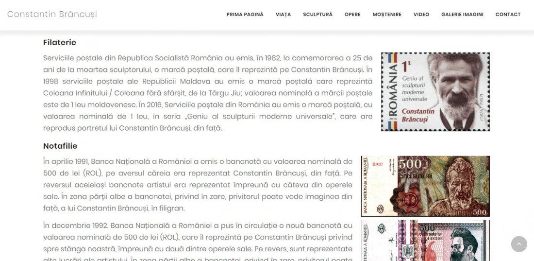 Atestat informatica Constantin Brancusi