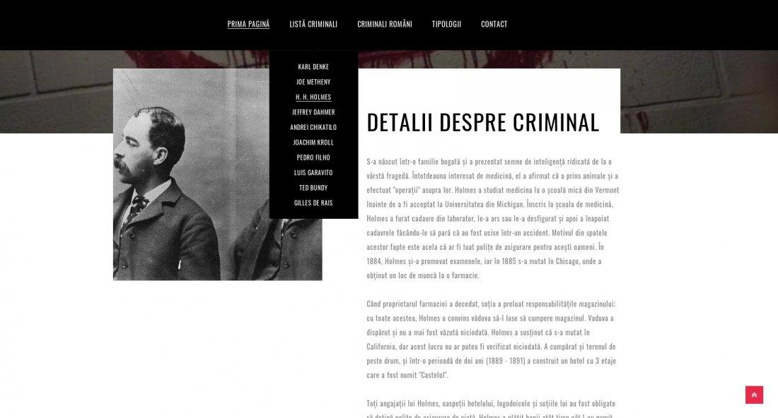 Atestat informatica Criminali celebri