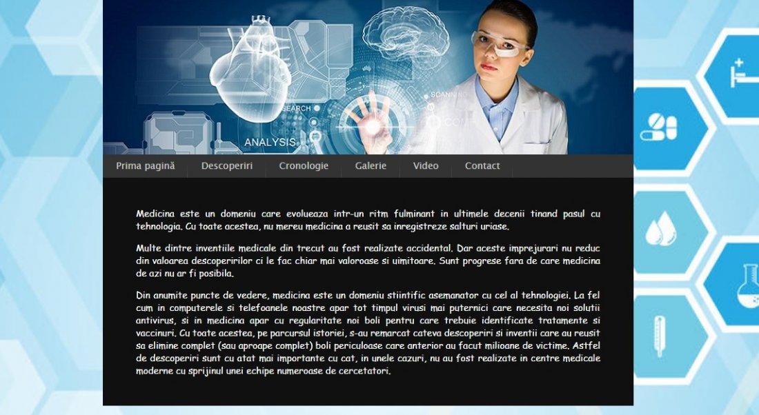 Atestat informatica Descoperiri in medicina