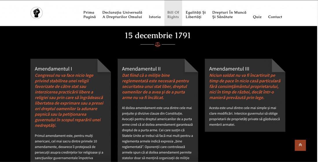 Atestat informatica Drepturile omului in SUA