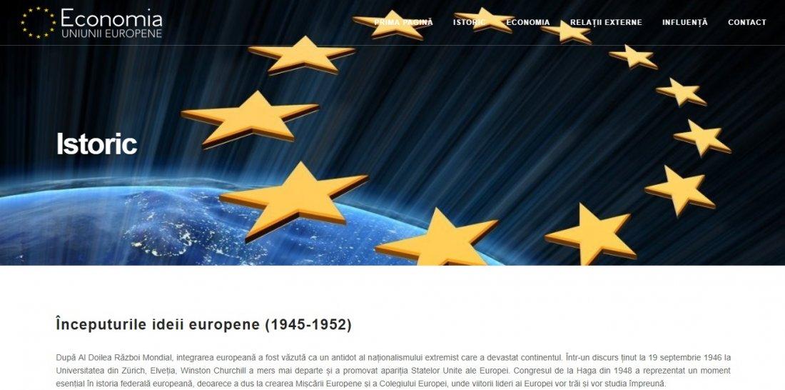 Atestat informatica Economia Uniunii Europene