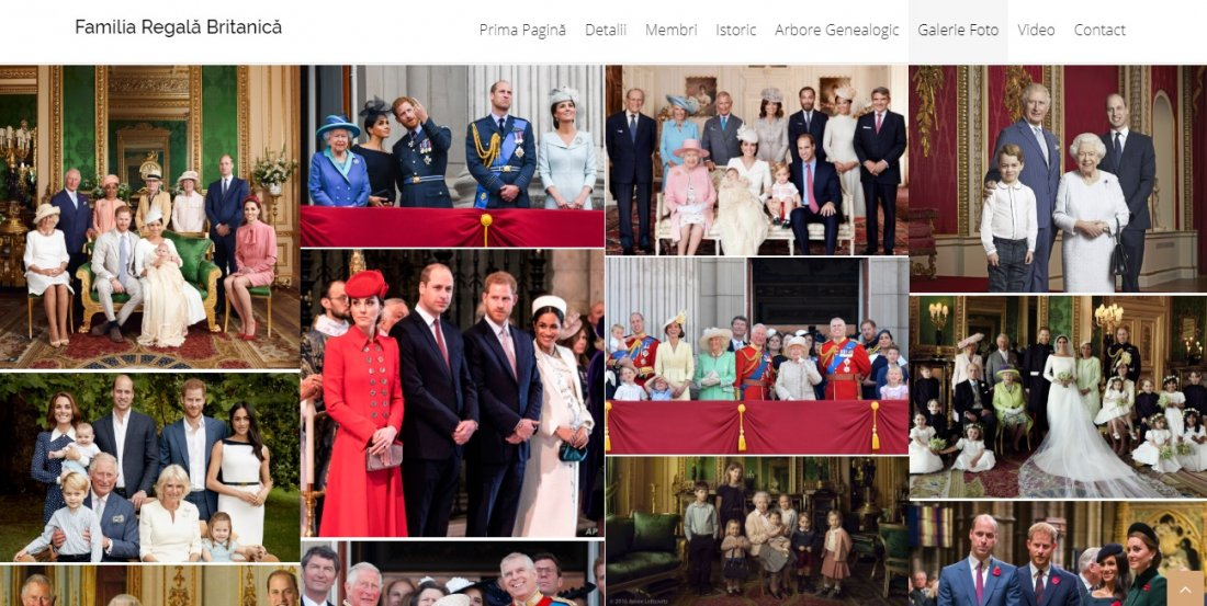Atestat informatica Familia Regala Britanica