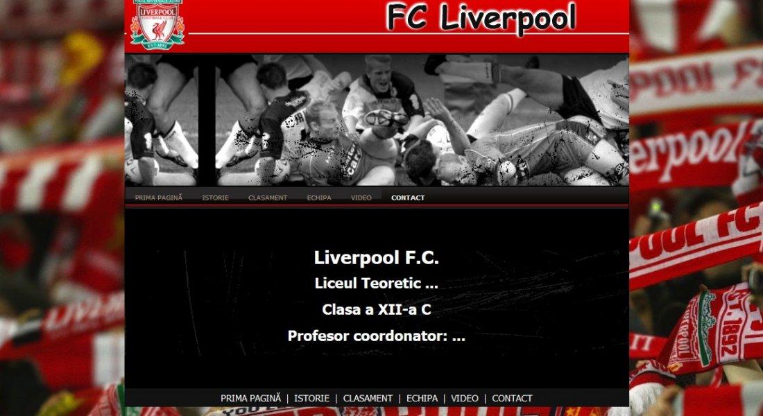Atestat informatica FC Liverpool