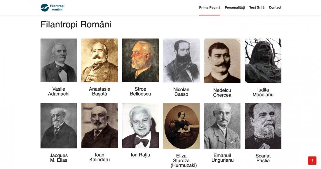 Atestat informatica Filantropi romani