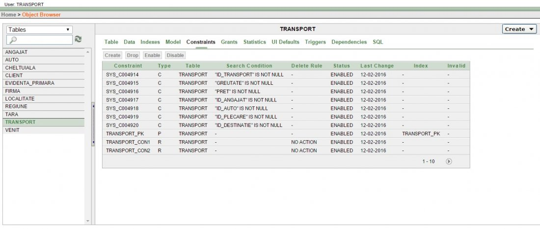 Atestat informatica Firma de transport