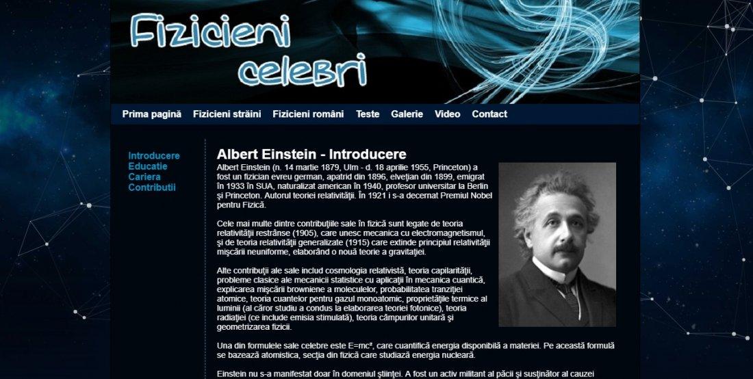 Atestat informatica Fizicieni celebri
