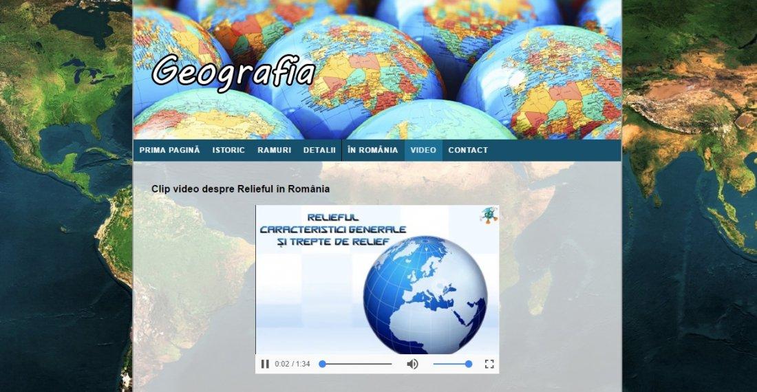 Atestat informatica Geografie