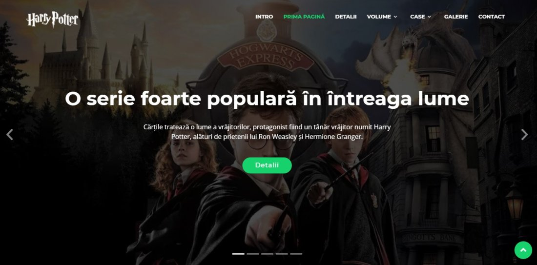 Atestat informatica Harry Potter