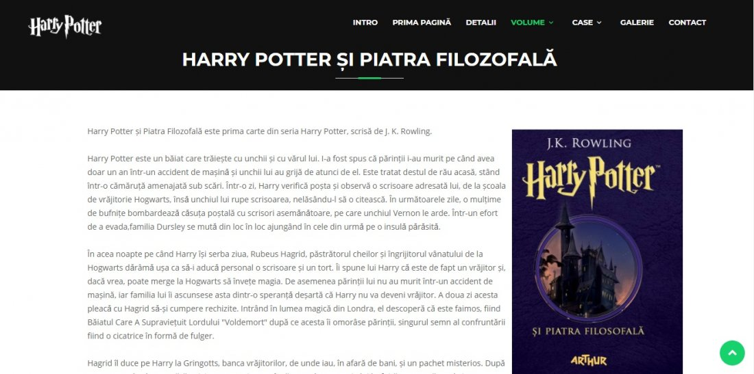 Atestat informatica Harry Potter