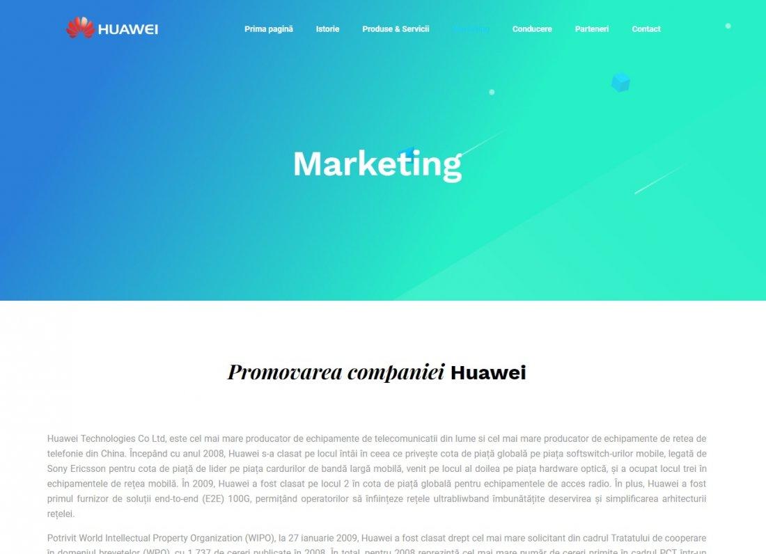 Atestat informatica Huawei