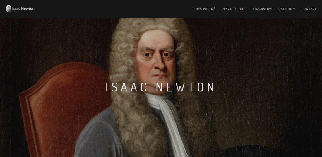 Atestat informatica Isaac Newton