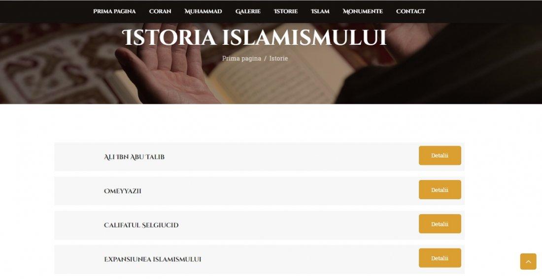 Atestat informatica Islamismul