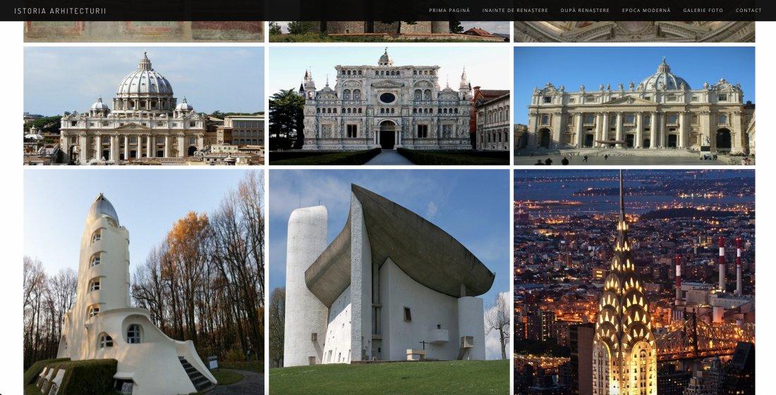 Atestat informatica Istoria Arhitecturii