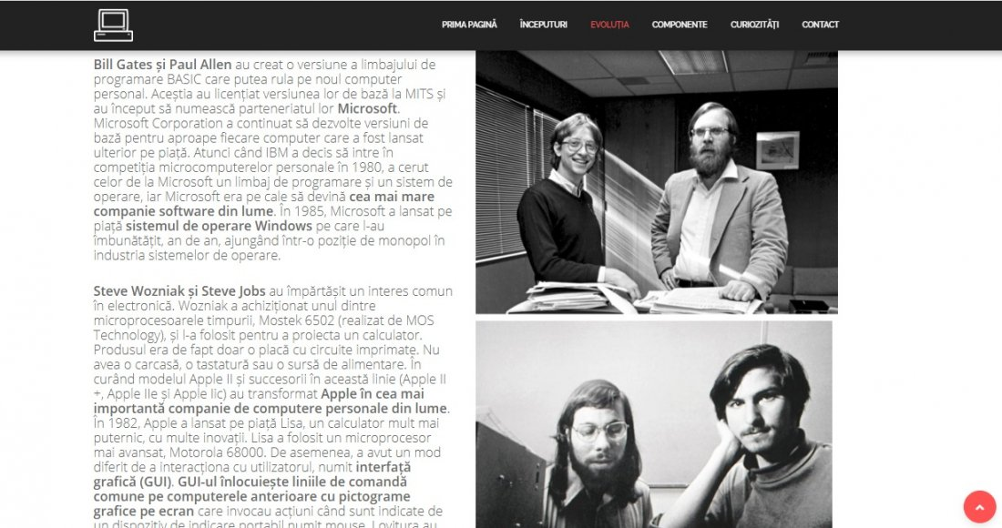 Atestat informatica Istoria Calculatorului