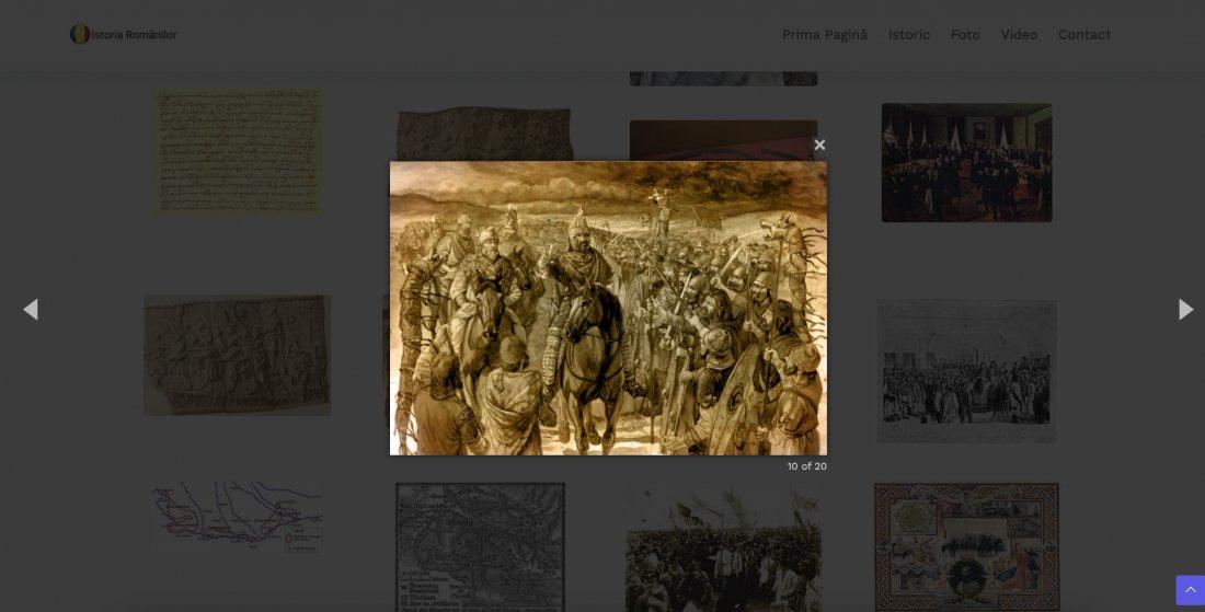 Atestat informatica Istoria romanilor