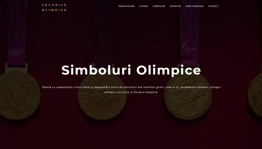 Atestat informatica Jocurile Olimpice