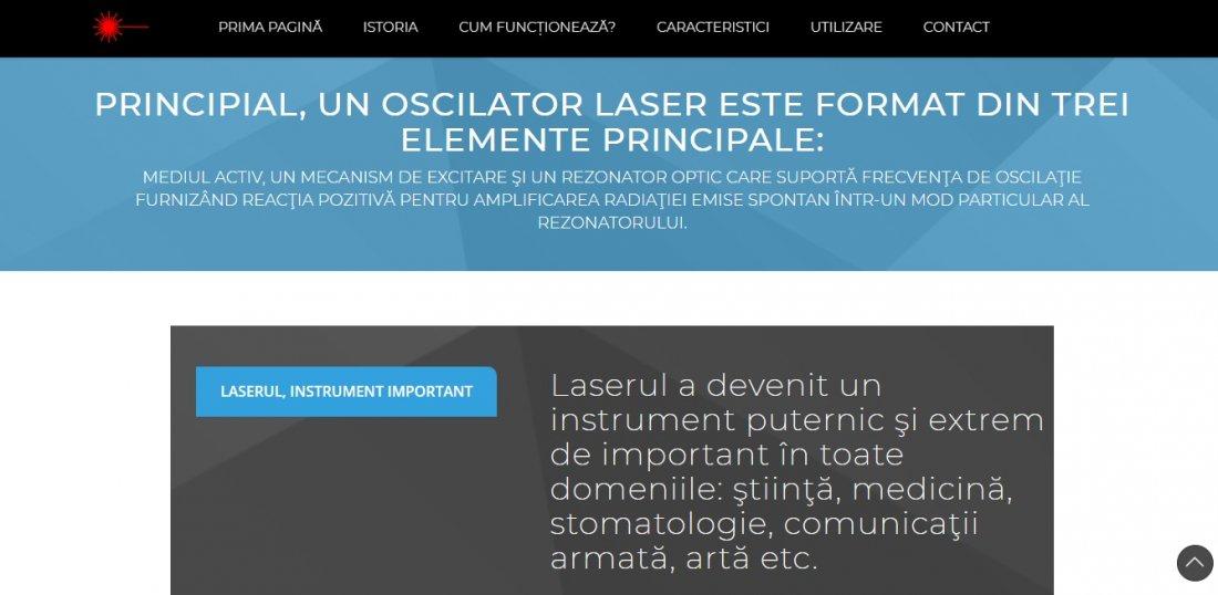 Atestat informatica Laser