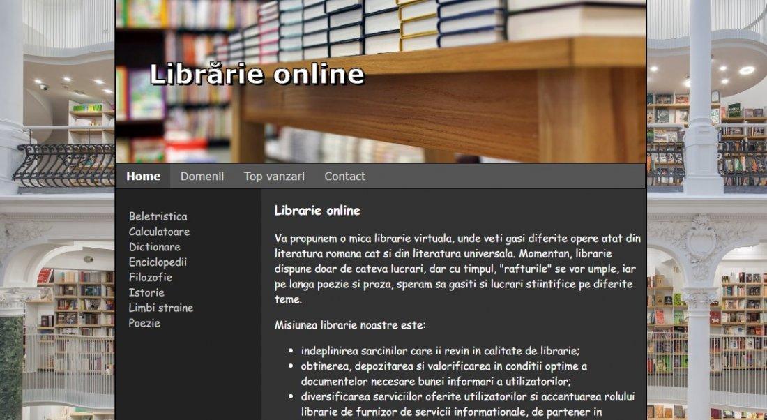 Atestat informatica Librarie