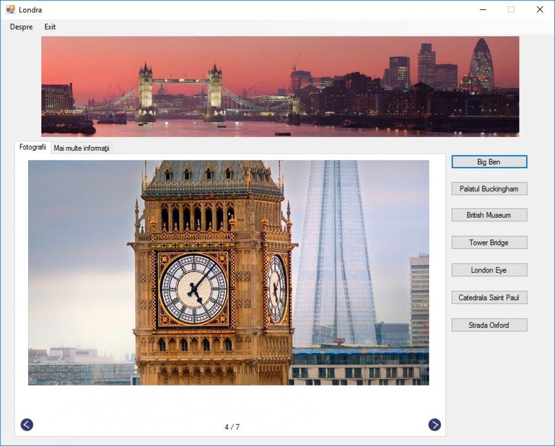 Atestat informatica Londra