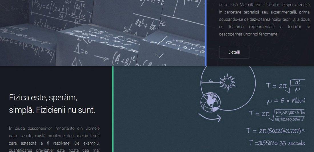 Atestat informatica Lumea fizicii