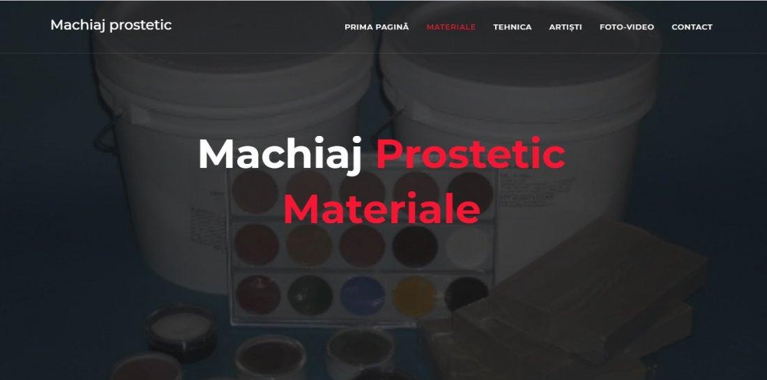 Atestat informatica Machiaj prostetic