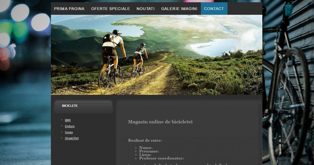 Atestat informatica Magazin biciclete