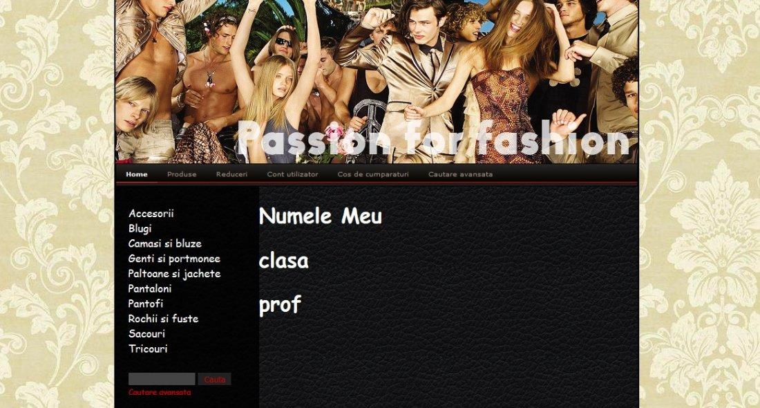 Atestat informatica Magazin online de haine