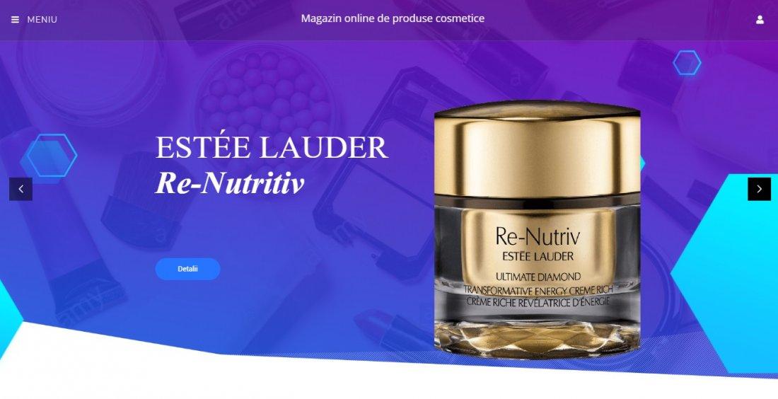 Atestat informatica Magazin de produse cosmetice