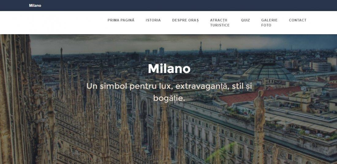 Atestat informatica Milano