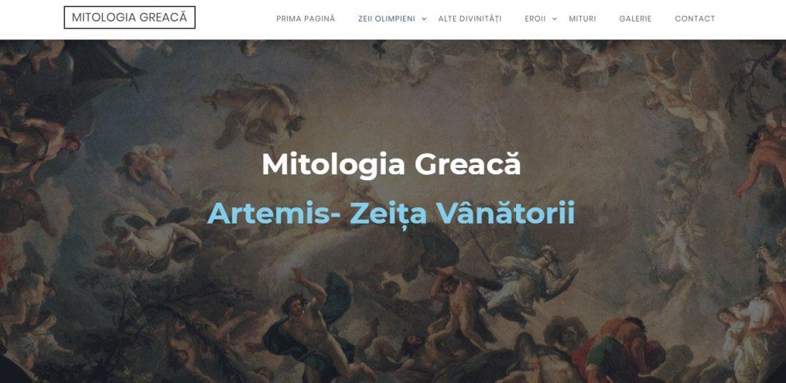 Atestat informatica Mitologia greaca si zeii greciei antice