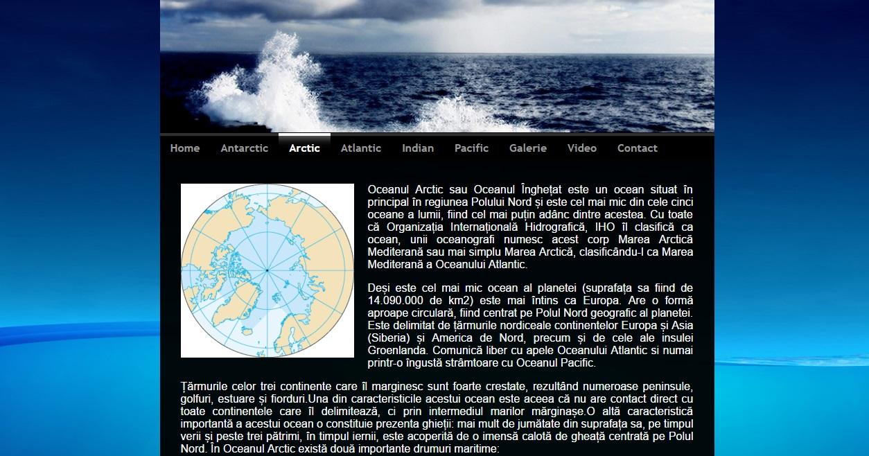 Atestat informatica Oceanele Terrei