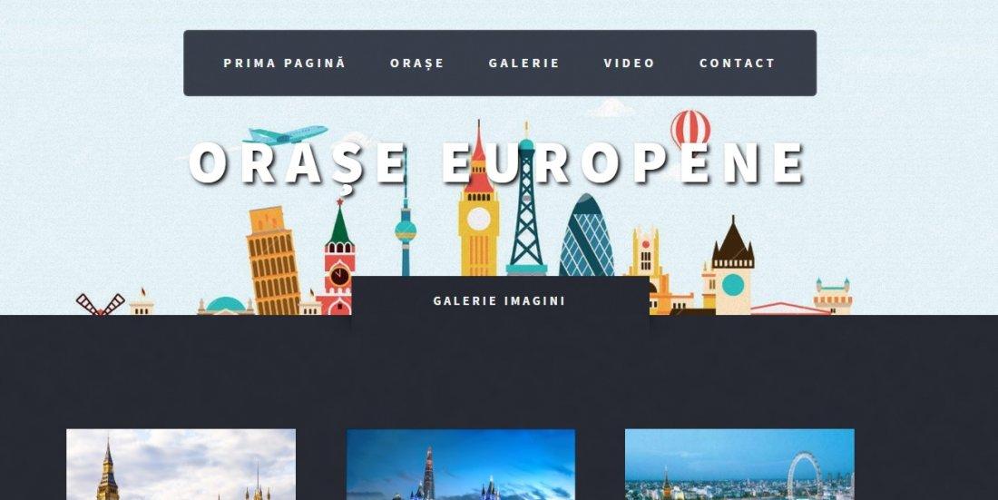Atestat informatica Orase europene