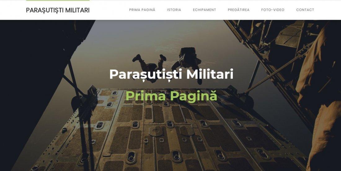 Atestat informatica Parasutisti militari