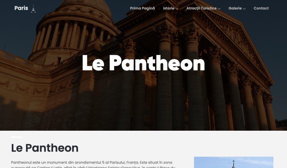 Atestat informatica Paris