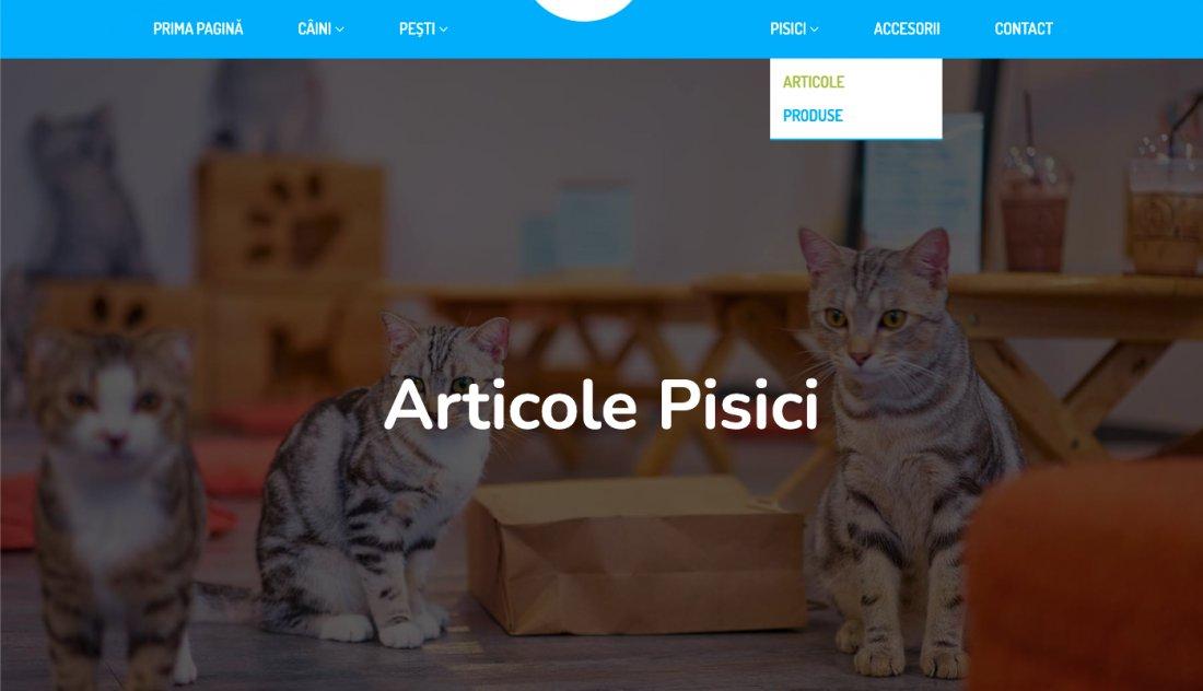 Atestat informatica Pet Shop
