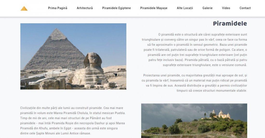 Atestat informatica Piramidele