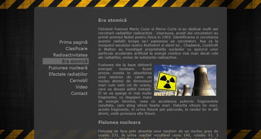 Atestat informatica Radiatii