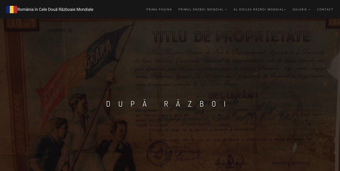 Atestat informatica Romania in Cele Doua Razboaie Mondiale