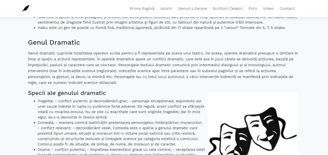 Atestat informatica Scriitori romani