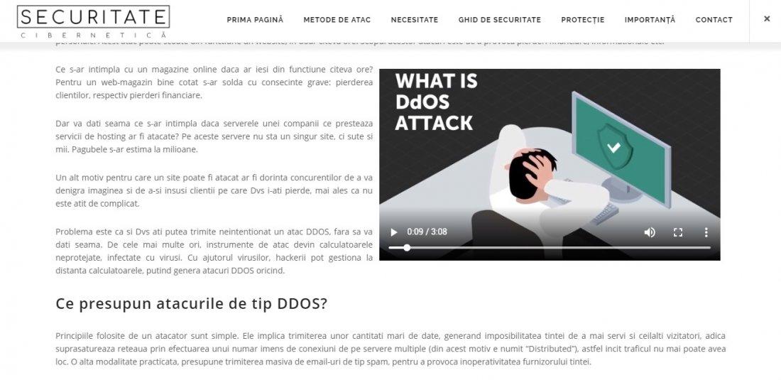 Atestat informatica Securitatea cibernetica