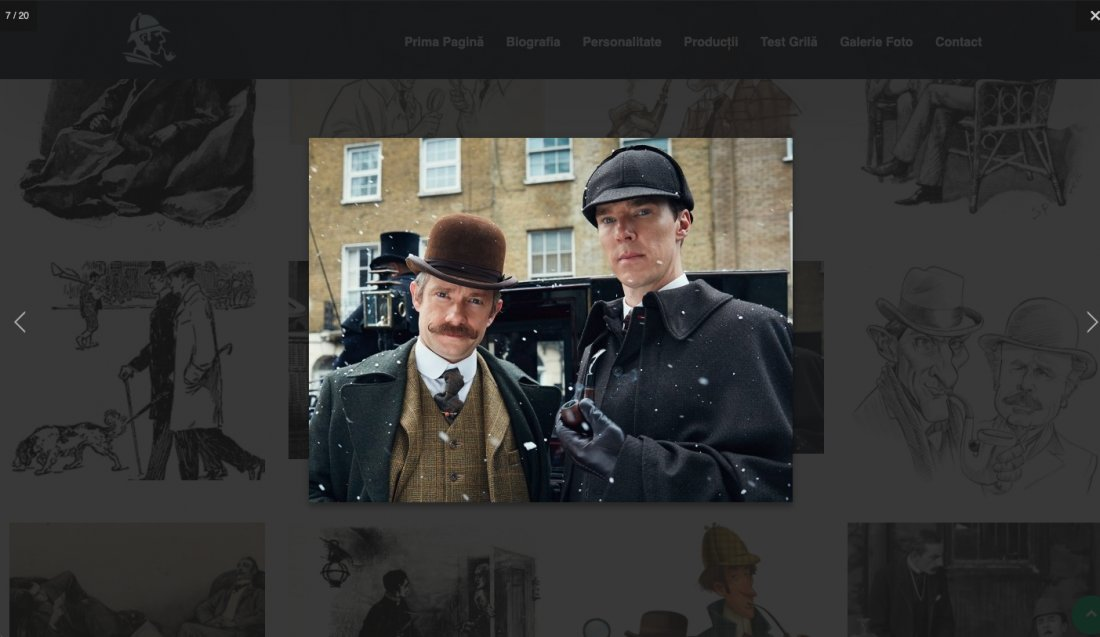 Atestat informatica Sherlock Holmes