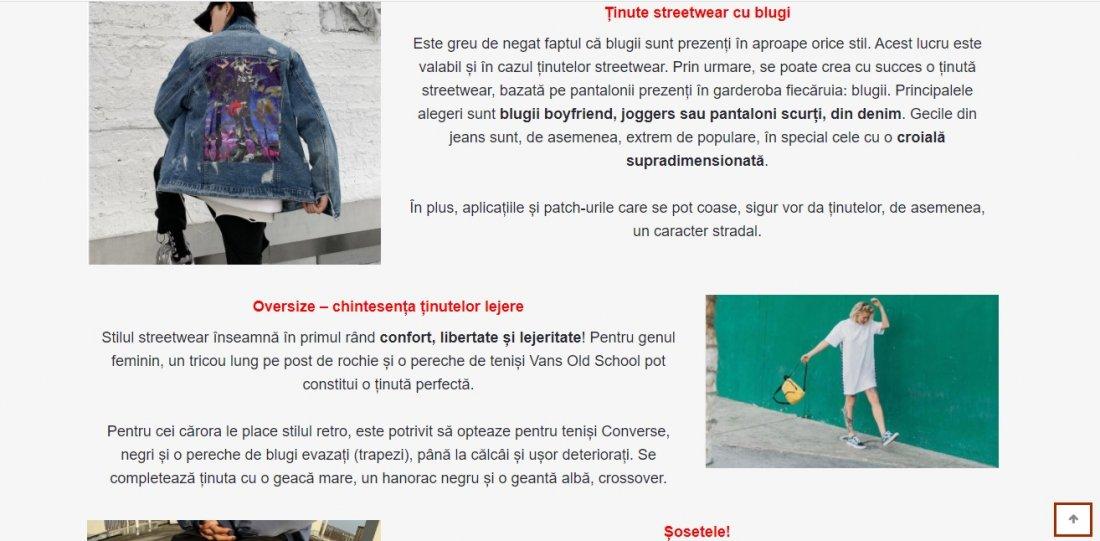 Atestat informatica Streetwear and Sneaker Culture