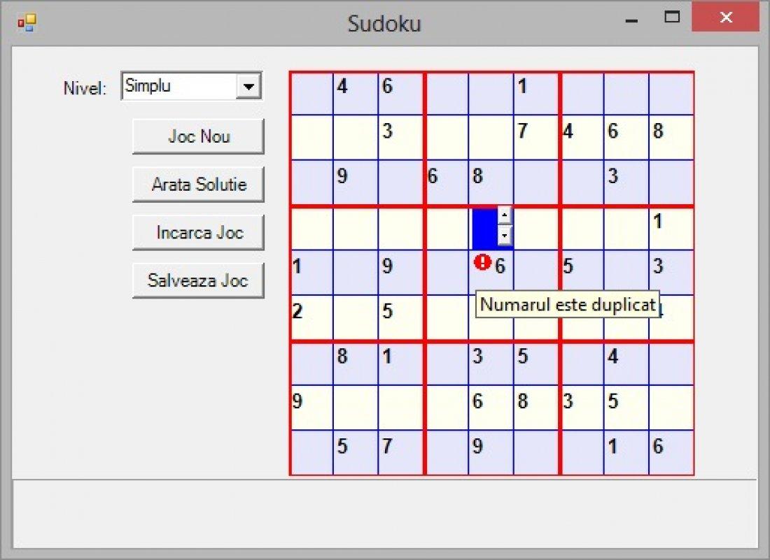Atestat informatica Sudoku
