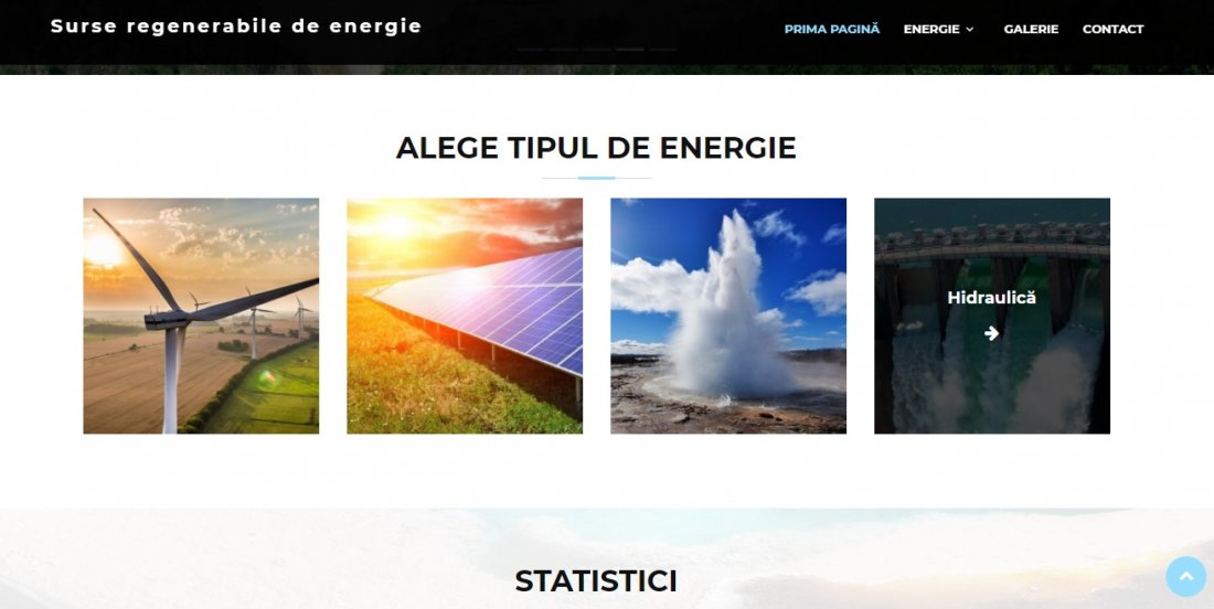 Atestat informatica Surse regenerabile de energie