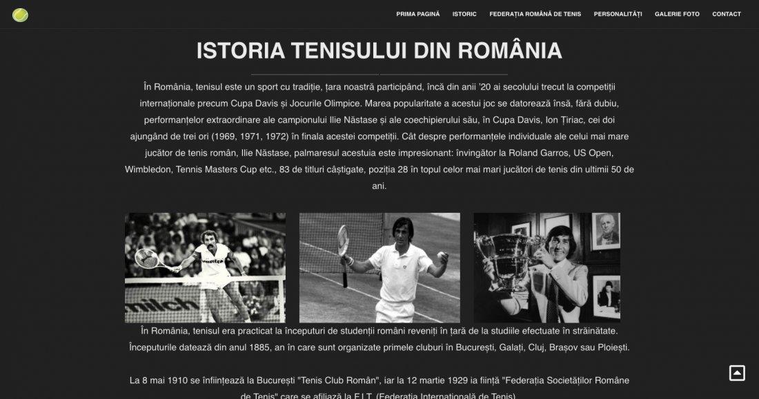 Atestat informatica Tenisul romanesc